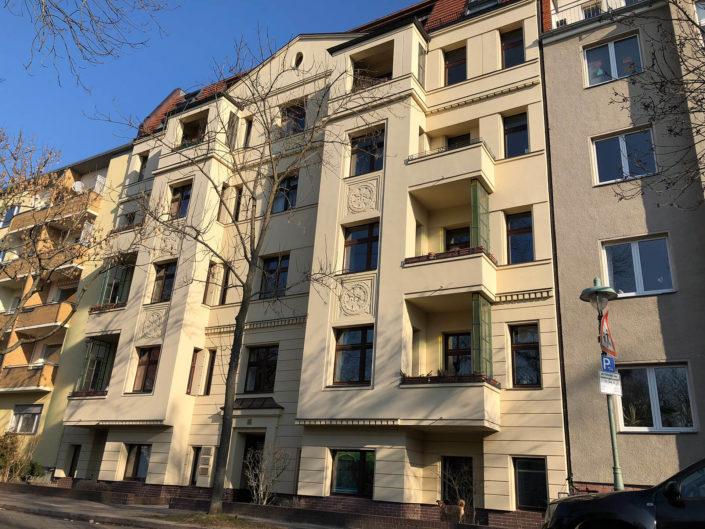Fassade mit Wärmedämm-Verbundsystem