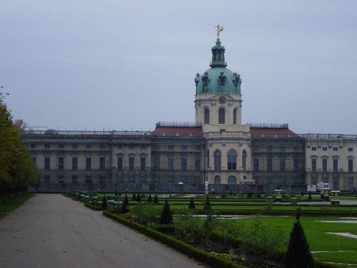 Sanierung der Fassade vom Schloss Charlottenburg