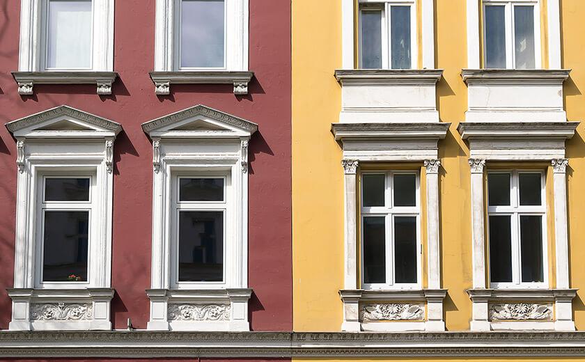 Deorative Fassadengestaltung
