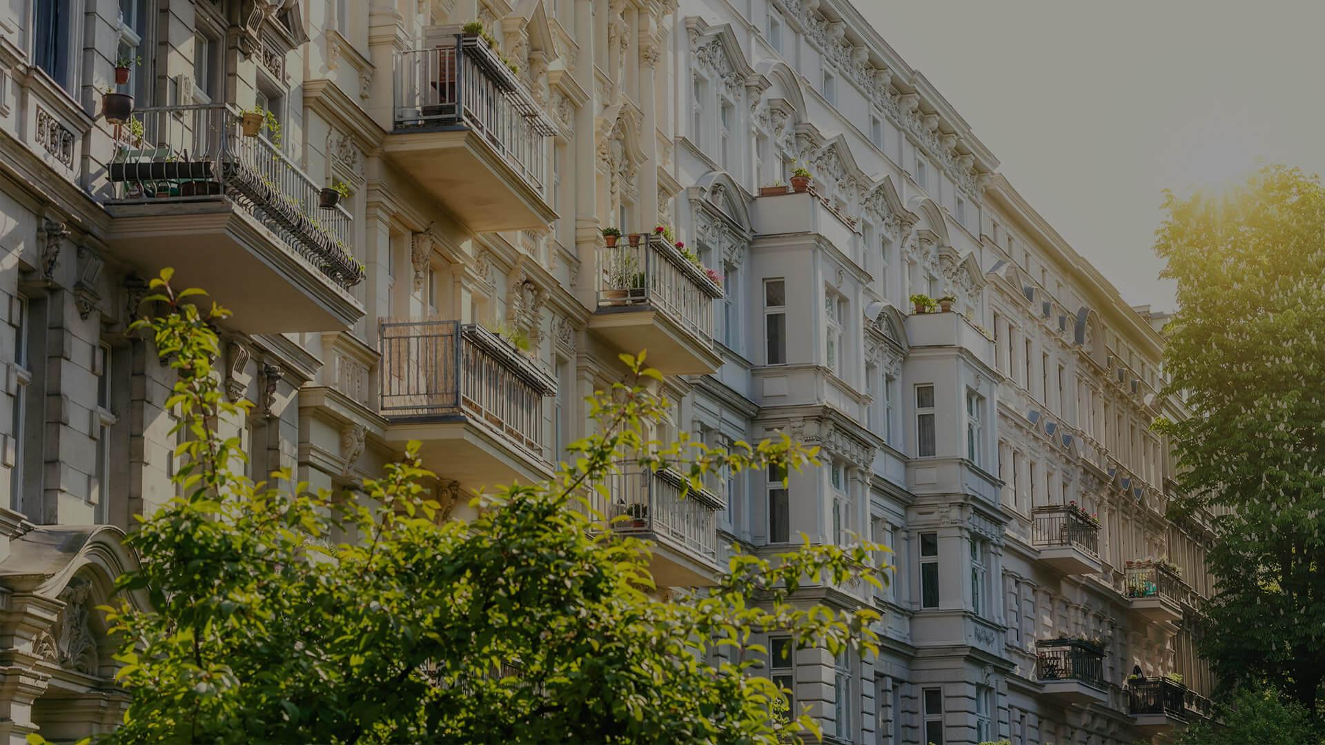 Dekorative Fassadengestaltung